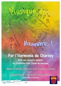 affiche concerts harmonie